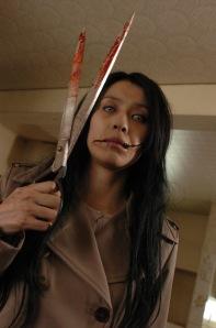 hantu wanita mulut sobek Kuchisake-Onna jepang by erit07