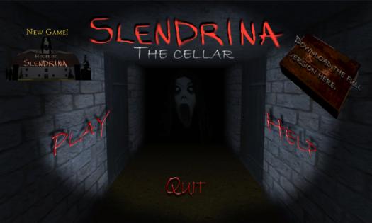 Hasil gambar untuk Game Slendrina The Cellar